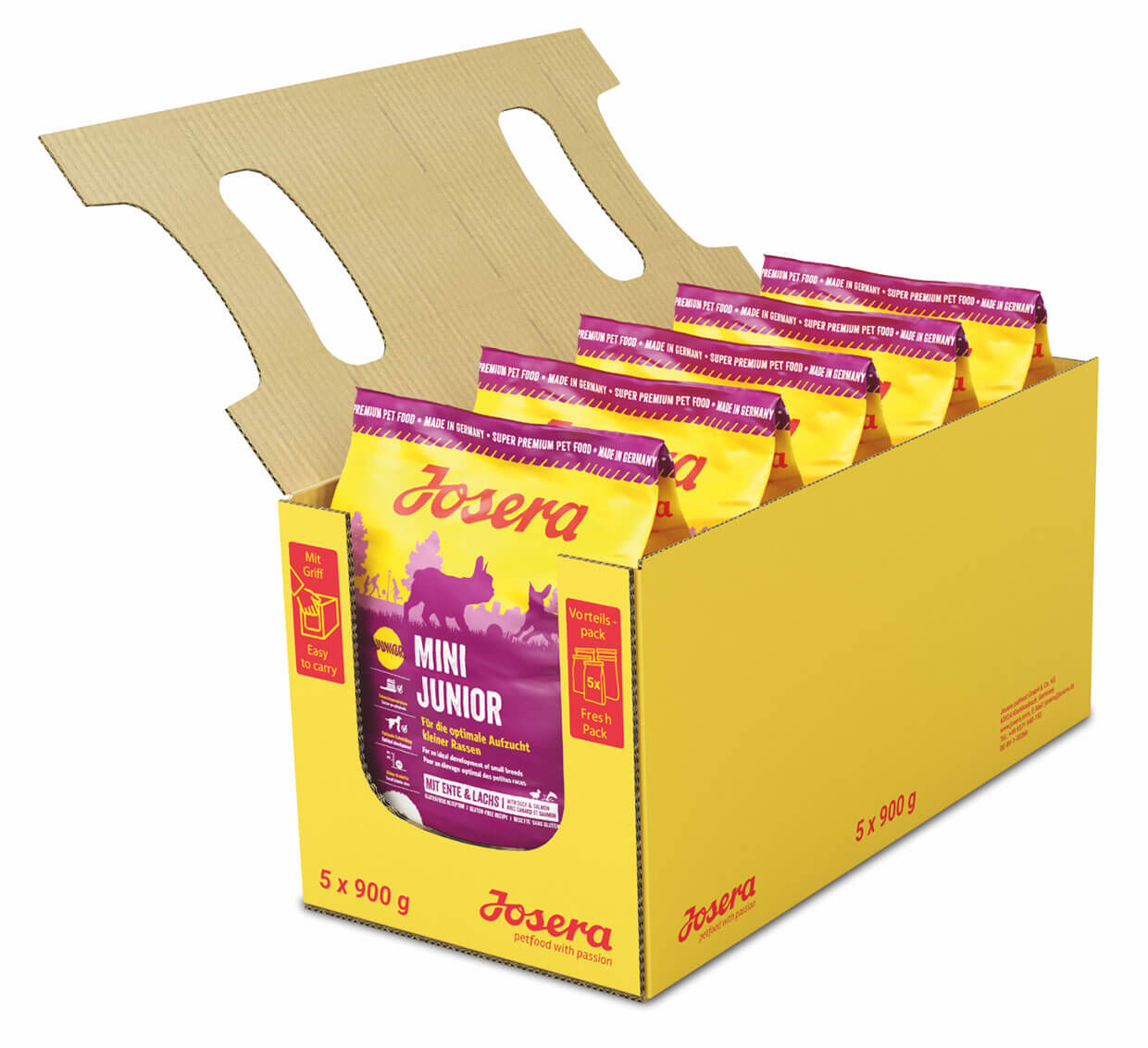 josera-dog-food-minijunior-5x900g