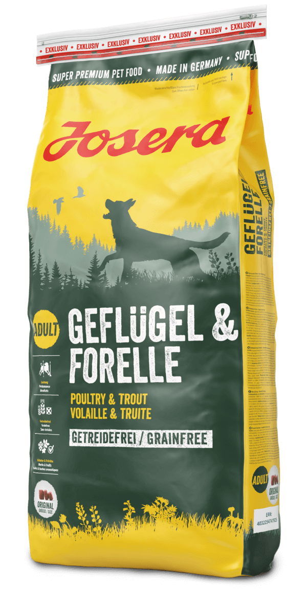 josera-dogfood-gefluegel-forelle